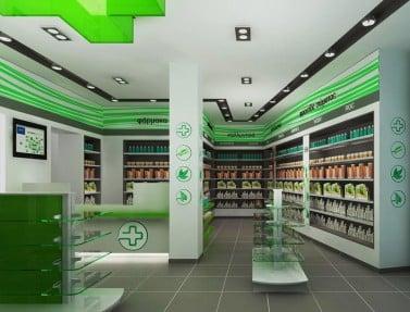 Αρχιτεκτονική φαρμακείων