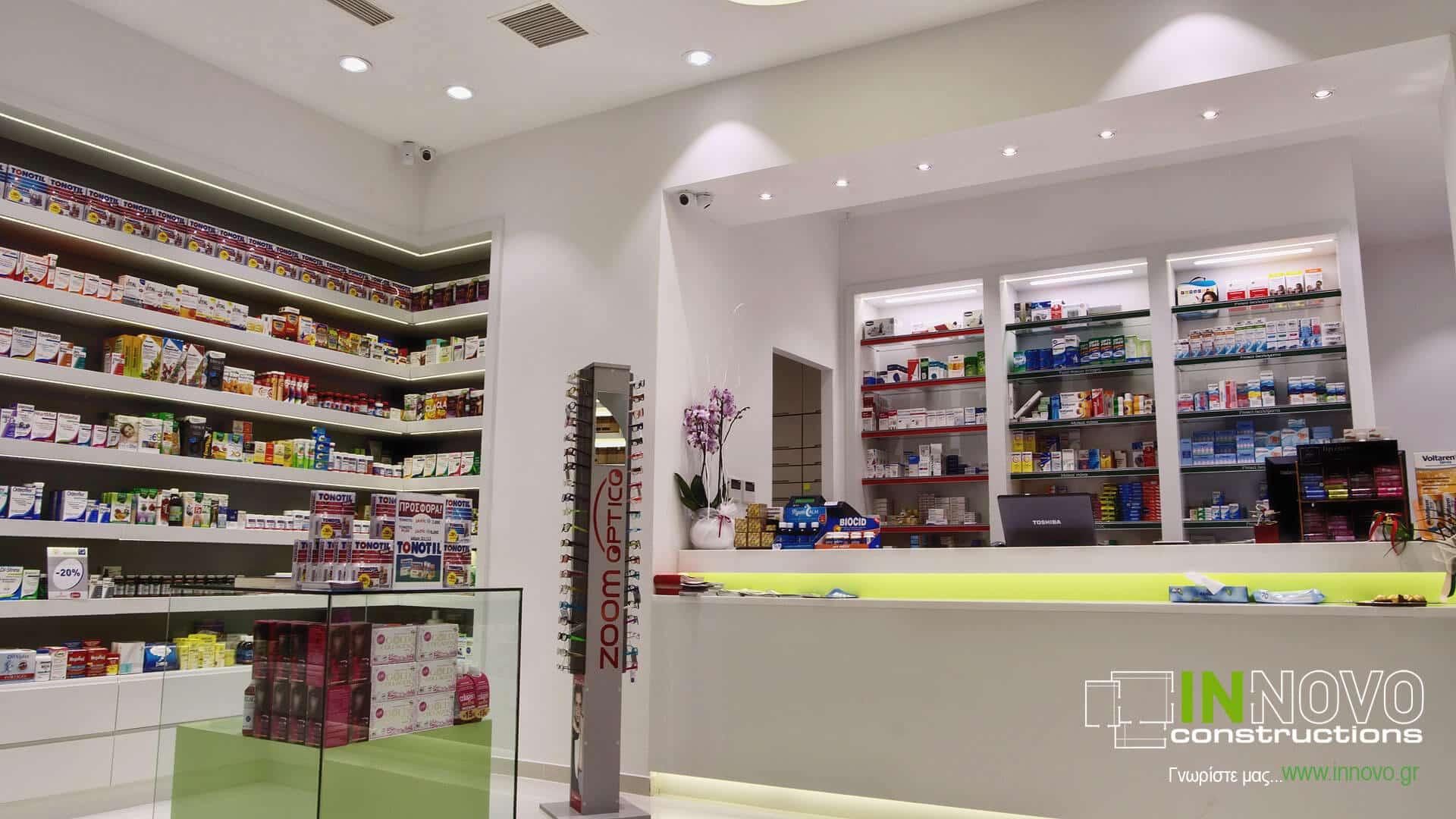 Κατασκευή Φαρμακείου στη Νέα Ερυθραία