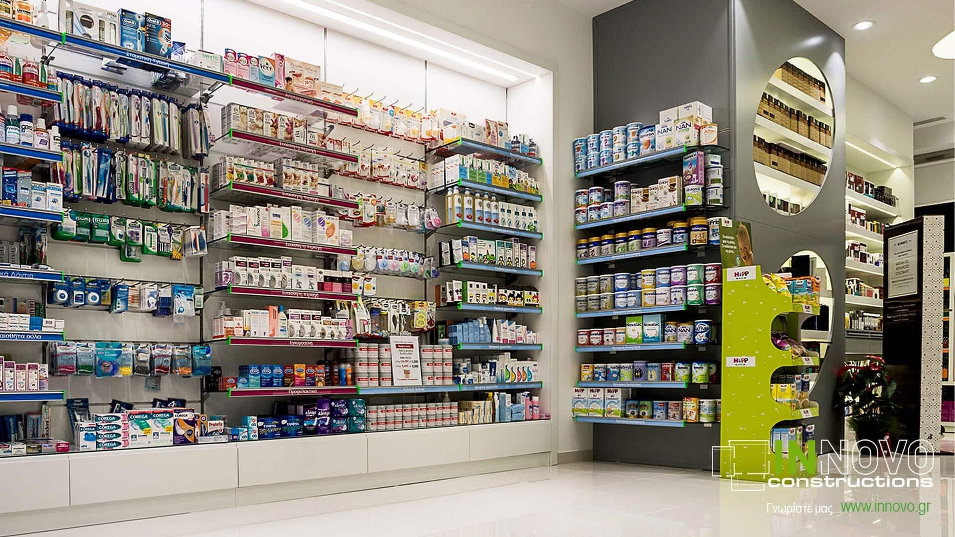 Ανακαίνιση Φαρμακείου στη Νέα Ερυθραία