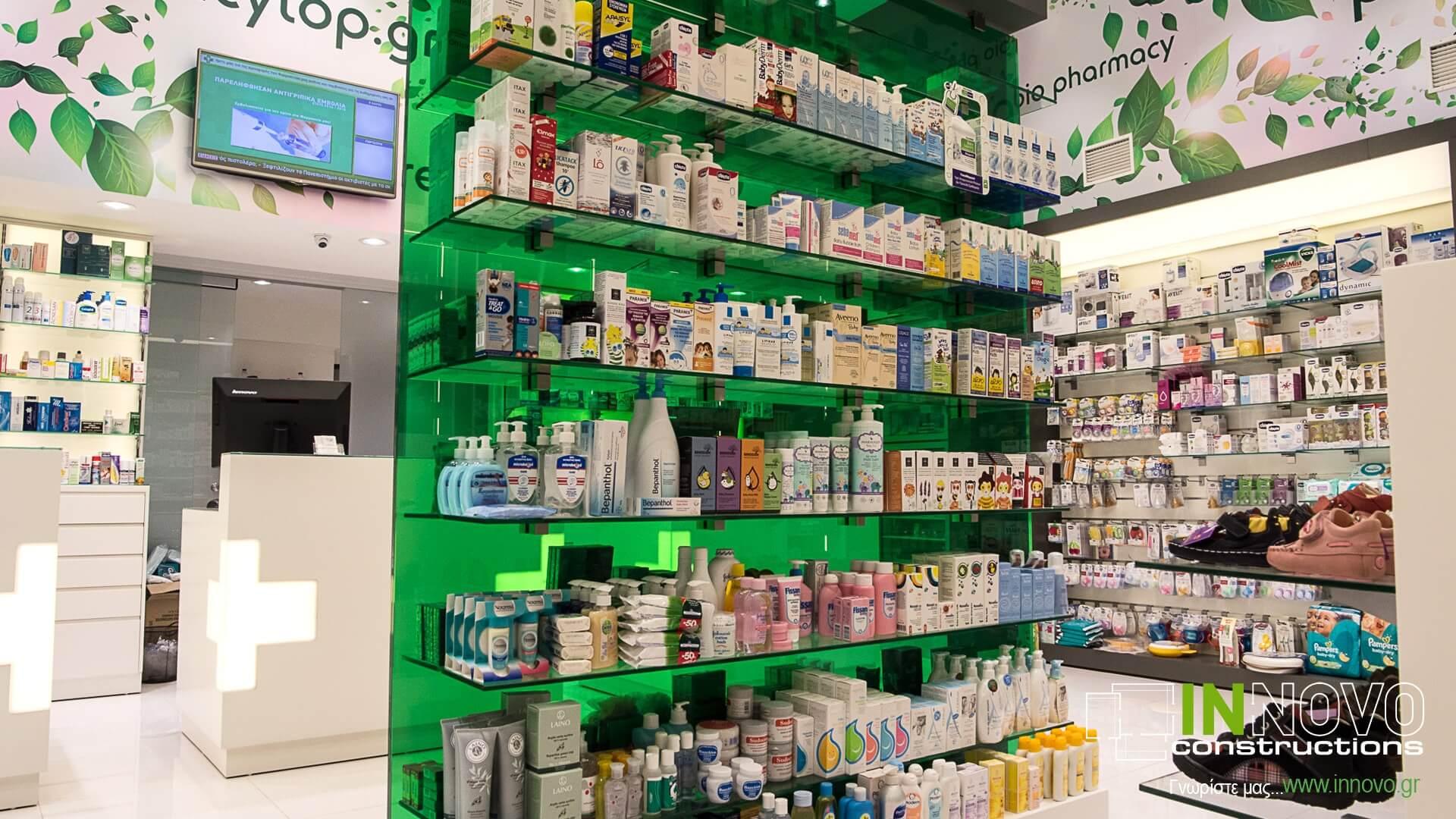 Βάρη φαρμακείο ανακαινισμένο