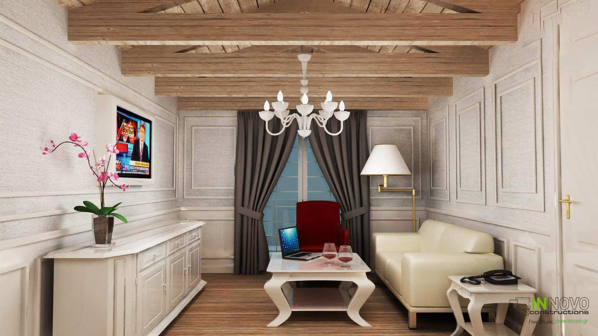 Σχεδιασμός ξενοδοχείου στην Πάργα από την Innovo