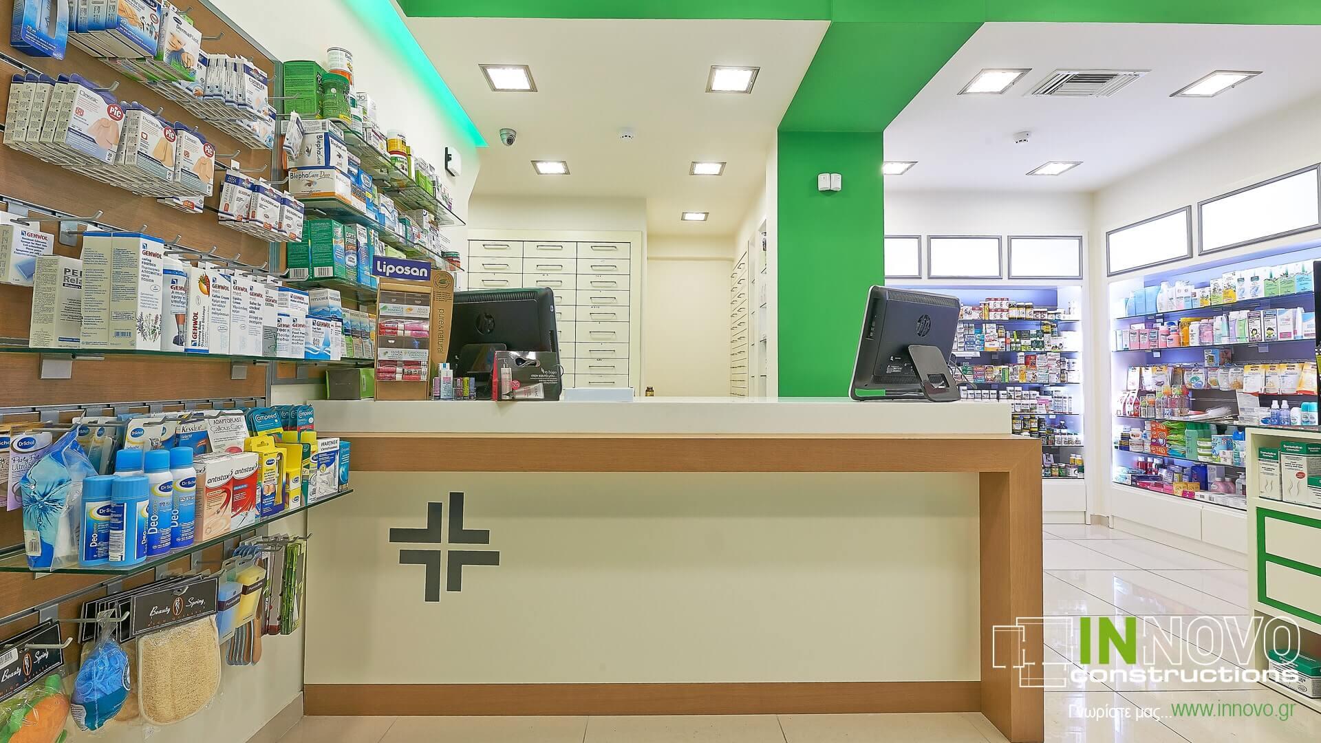 Πάγκος Ταμείου R-Kiniska Φαρμακείο Κολωνάκι