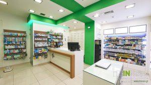 Διακόσμηση φαρμακείου Κολωνάκι