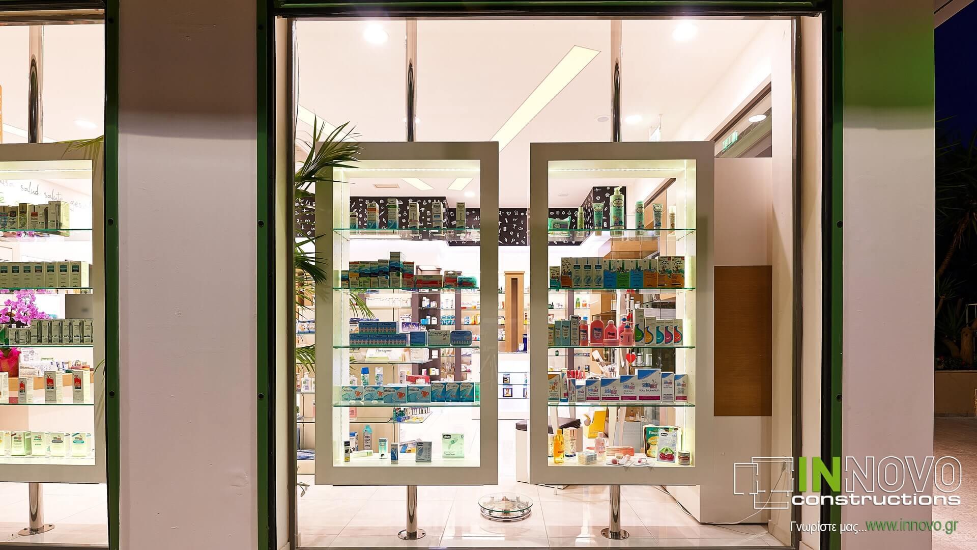 Βούλα Ανακαινίσεις κατασκευές φαρμακείων