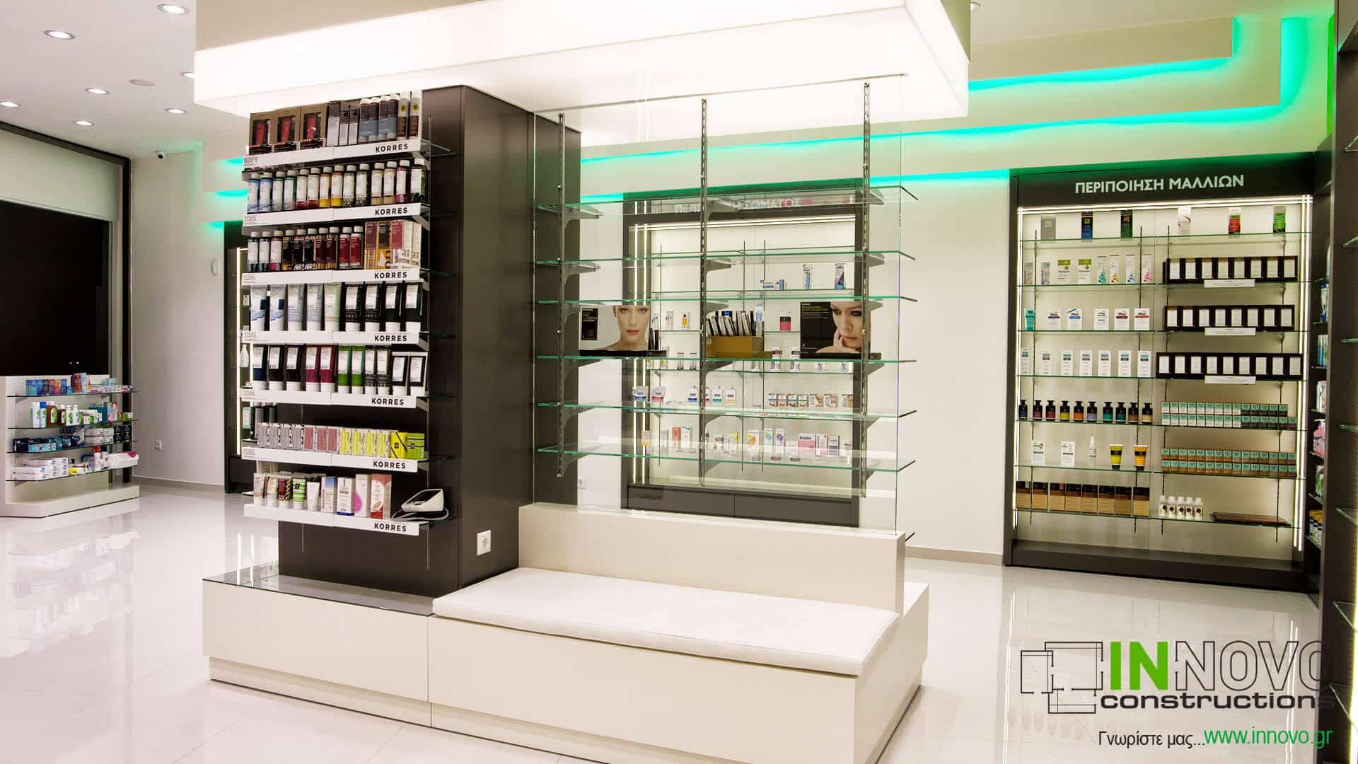 Αγ. Δημήτριο κατασκευές ανακαινίσεις φαρμακείου