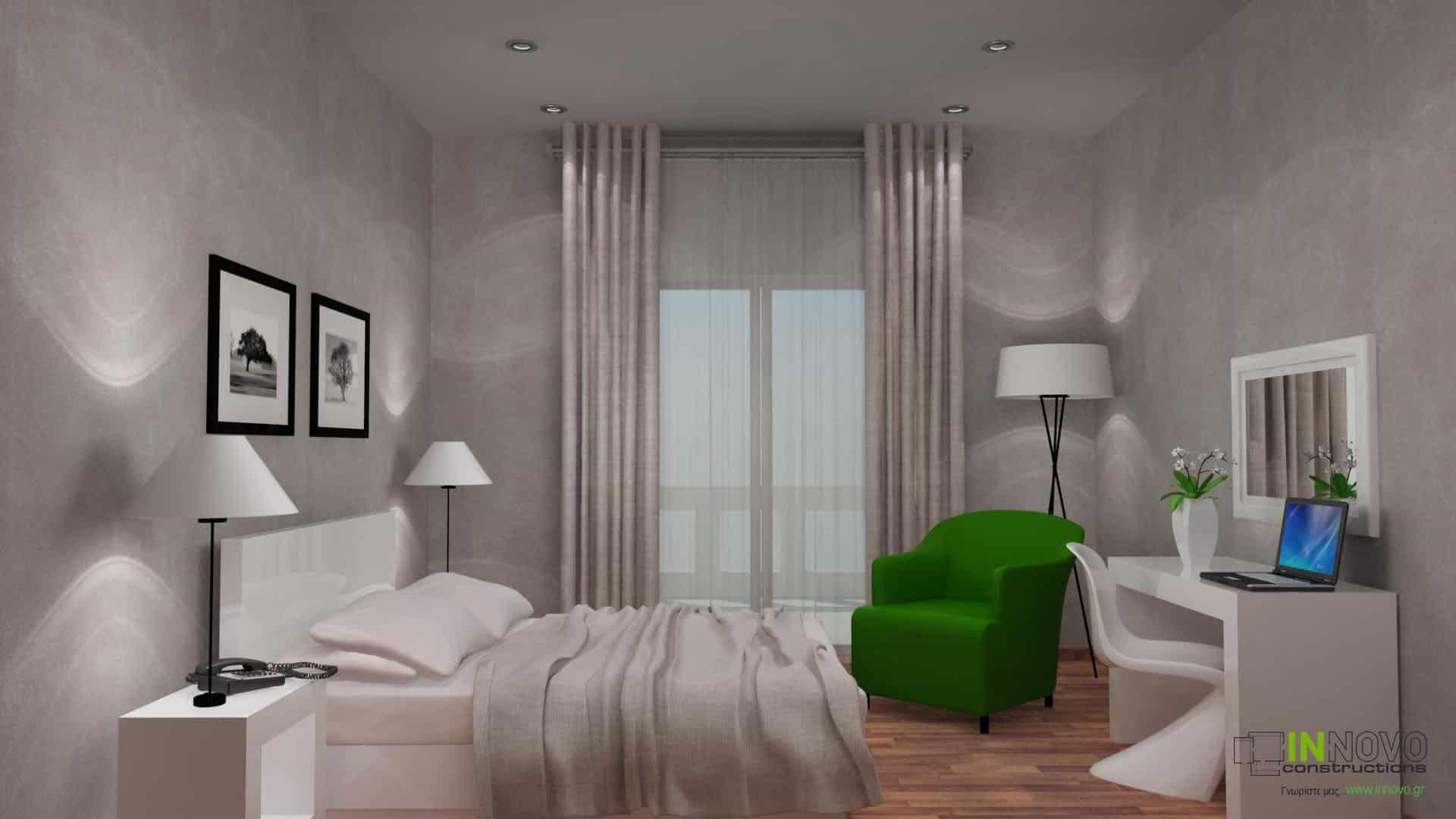 Επίπλωση ξενοδοχείου στην Πάργα από την Innovo