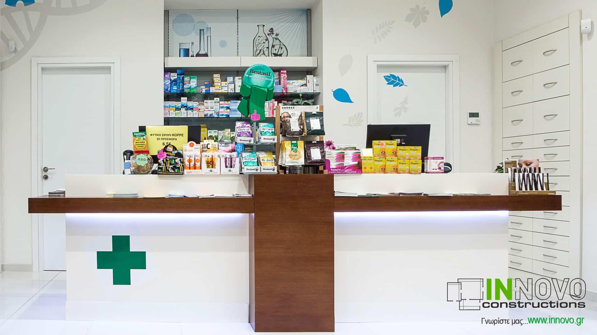 Πάγκος Ταμείου R-Dorida Φαρμακείο στο Κορωπί