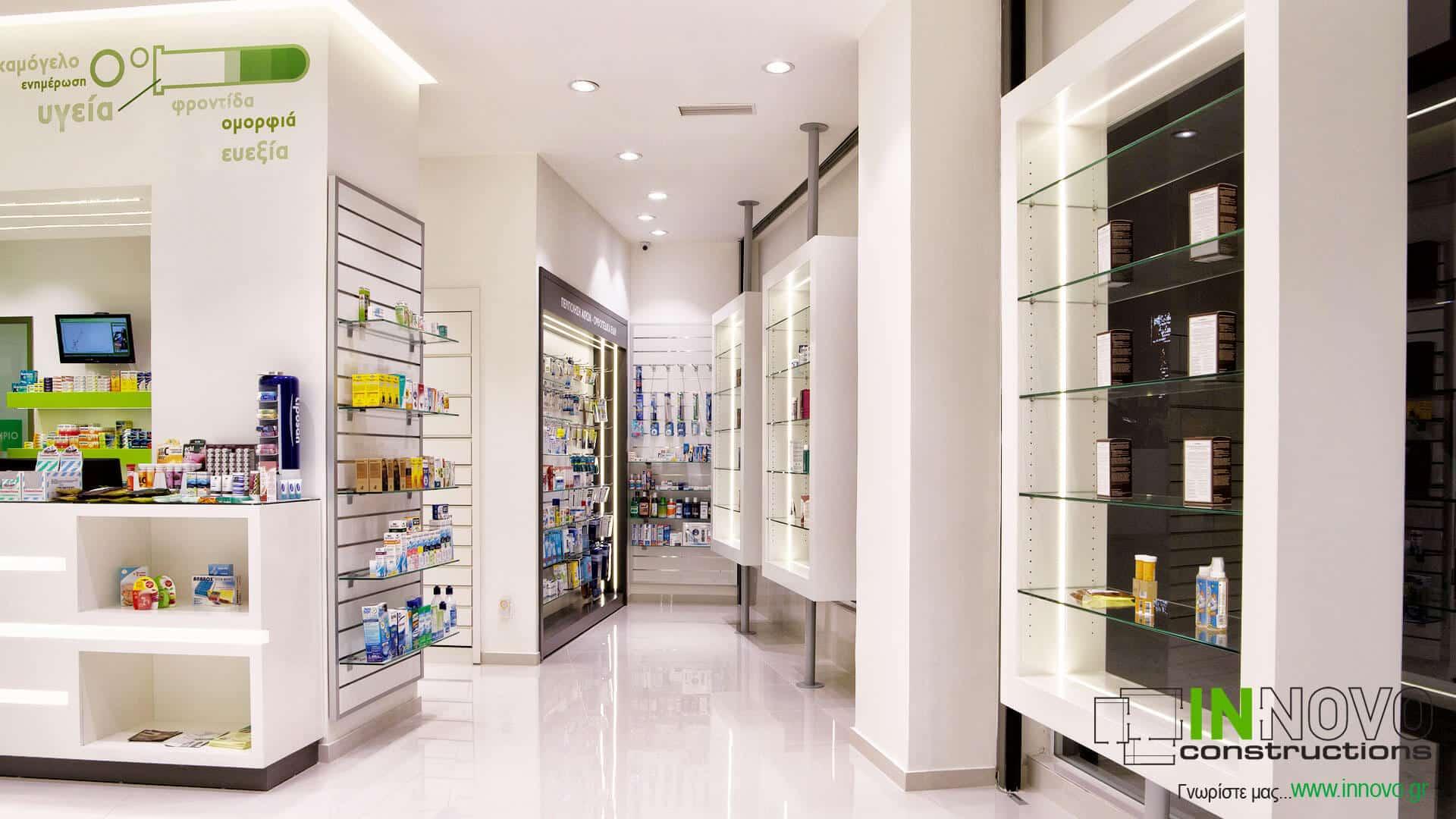 Ανακαινίσεις φαρμακείων Α. Δημήτριο
