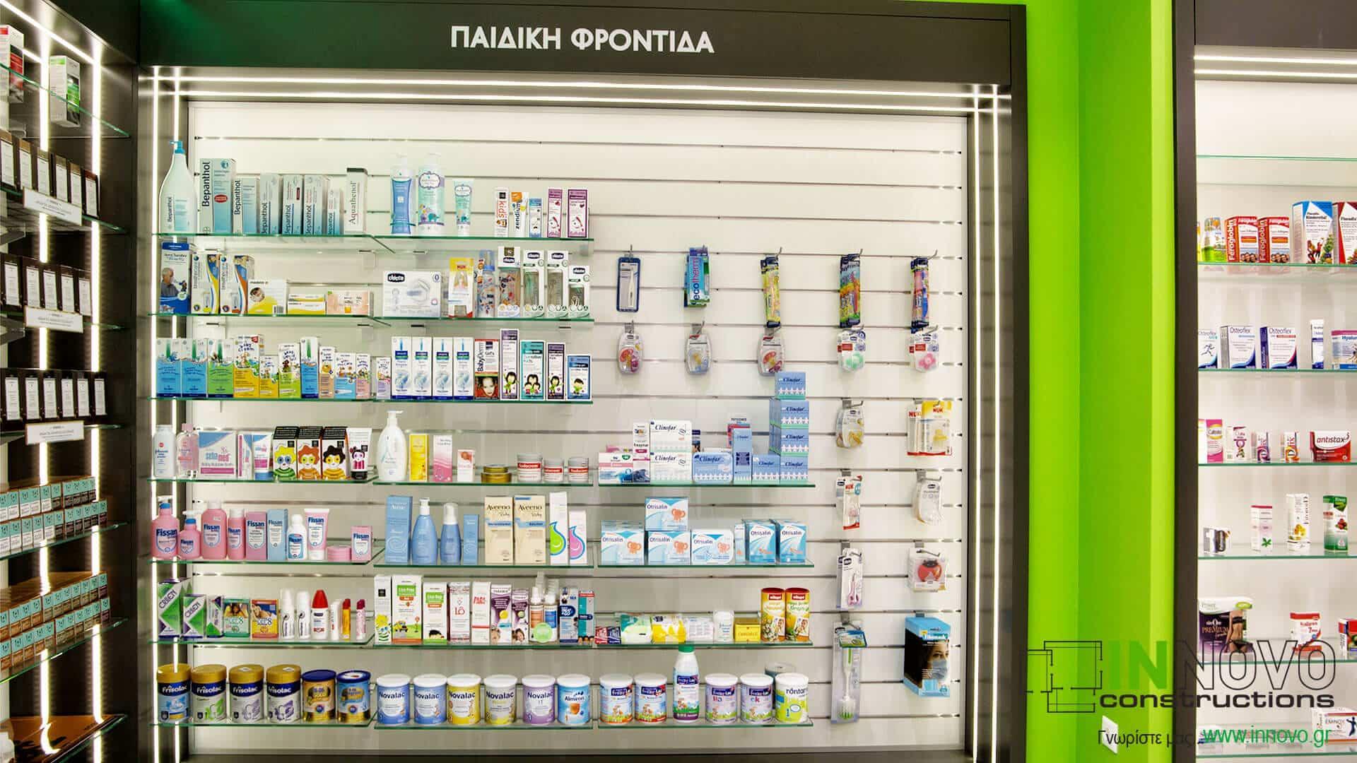 Κατασκευές φαρμακείων Α. Δημήτριο