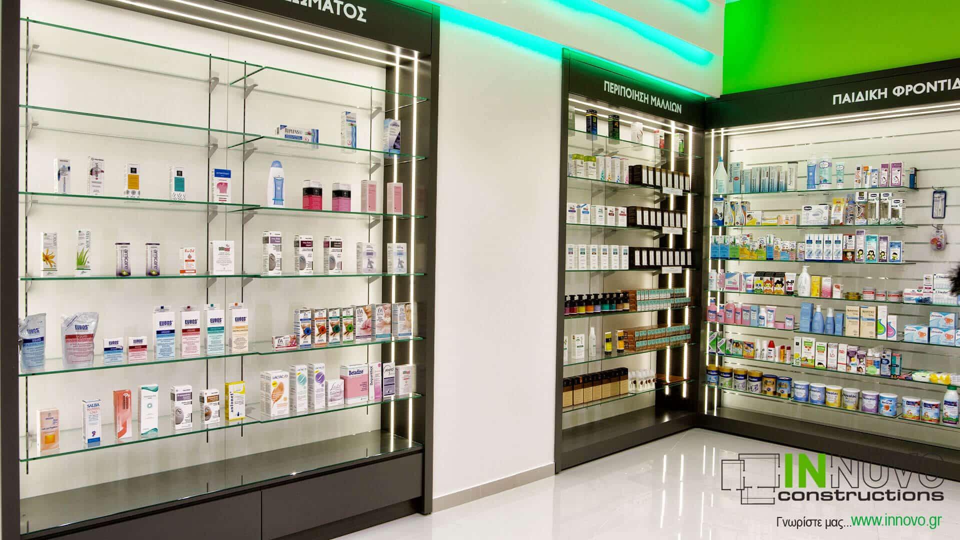 Ανακαίνιση κατασκευή φαρμακείου Αγ. Δημήτριο