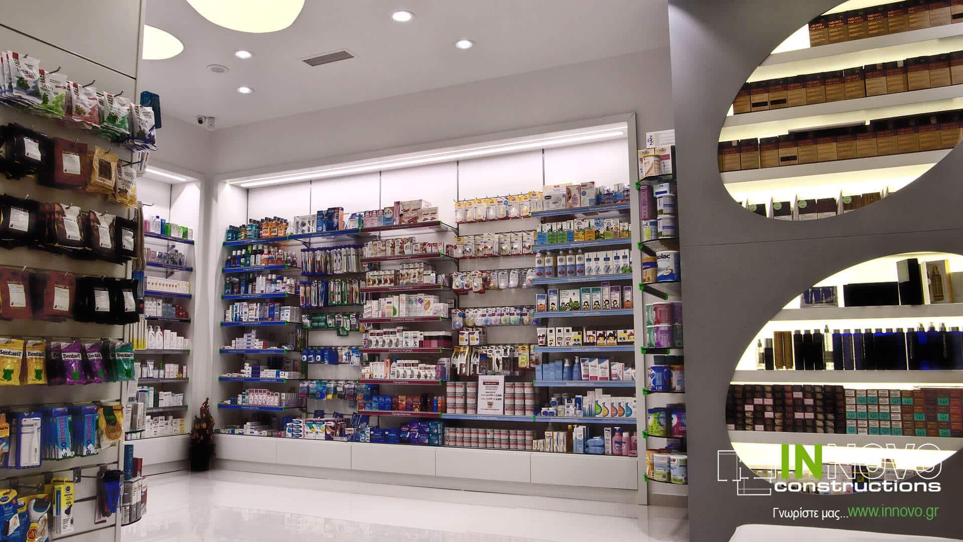 Επίπλωση Φαρμακείου στη Νέα Ερυθραία