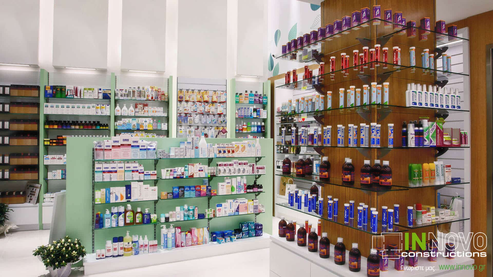 Αργυρούπολη ανακαίνιση φαρμακείου