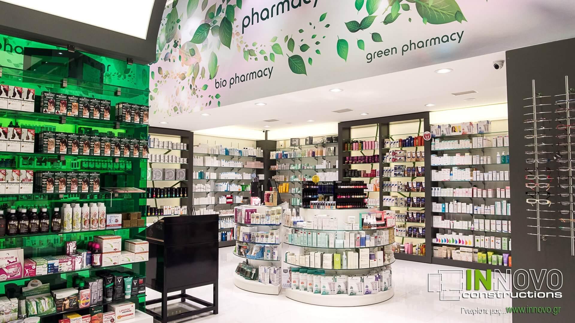 Ανακαινίσεις φαρμακείων