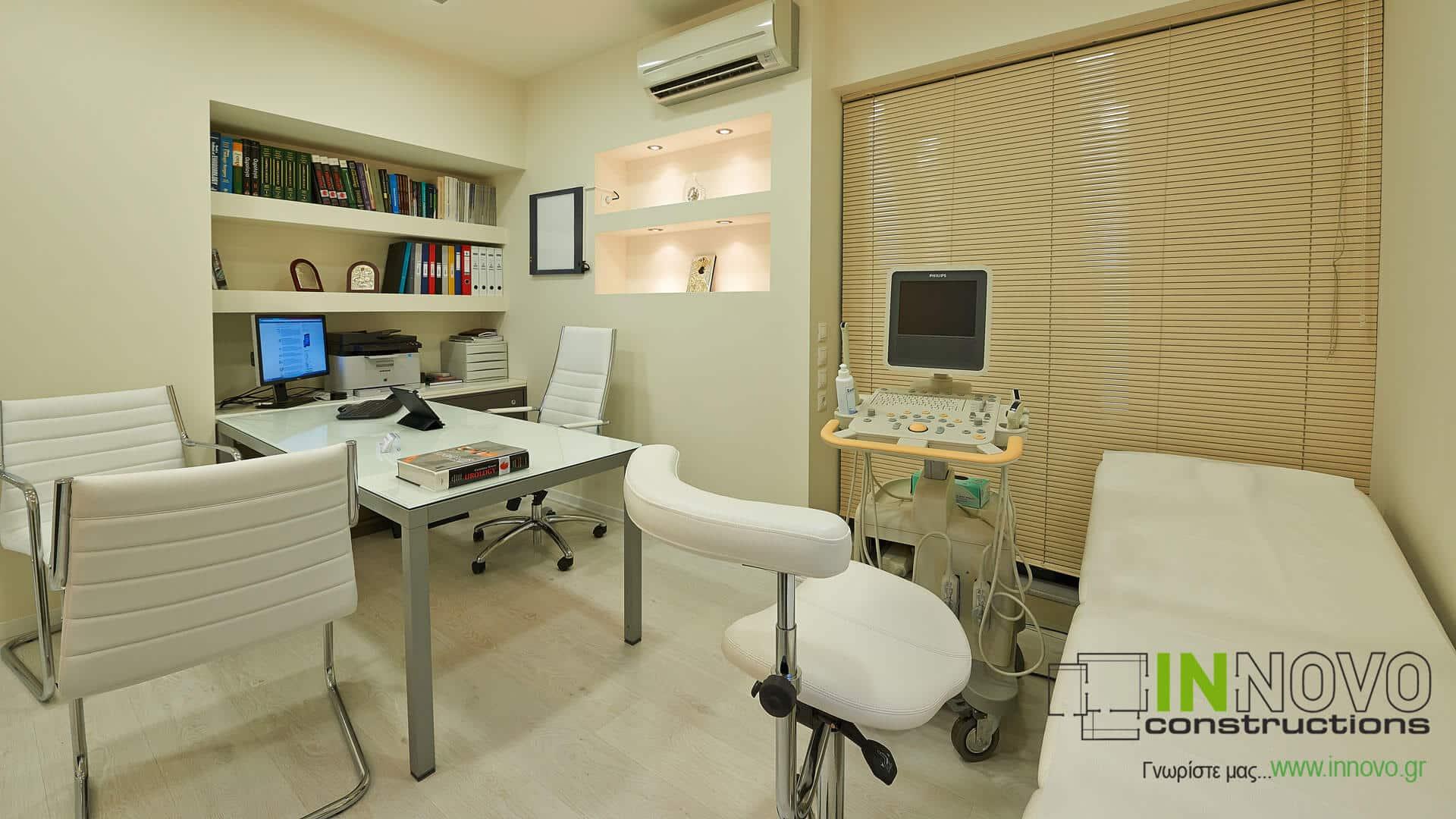 Σχεδιασμός και διακόσμηση Ουρολογικού ιατρείου στη Δροσιά