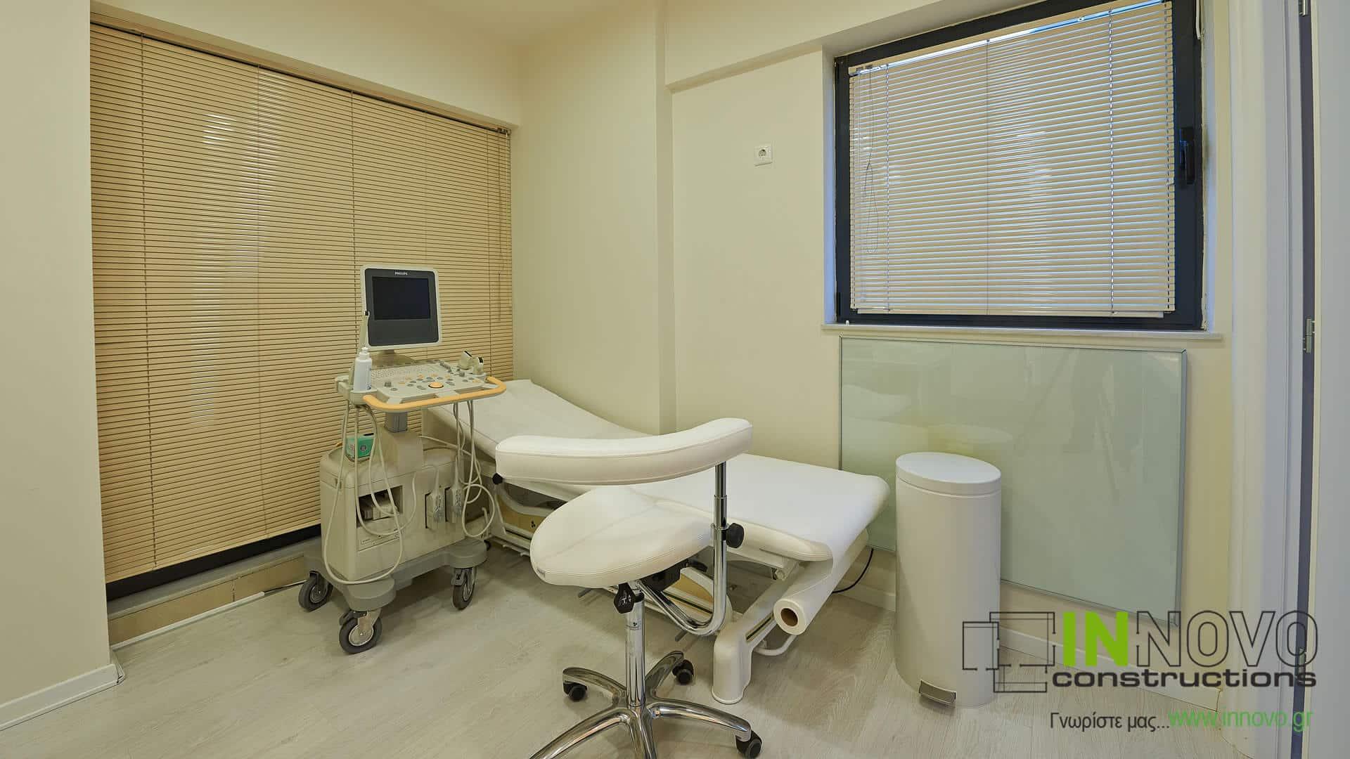 Σχεδιασμός και ανακαίνιση Ουρολογικού ιατρείου στη Δροσιά