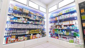 Ανακαίνιση κατασκευή φαρμακείου Κολωνάκι