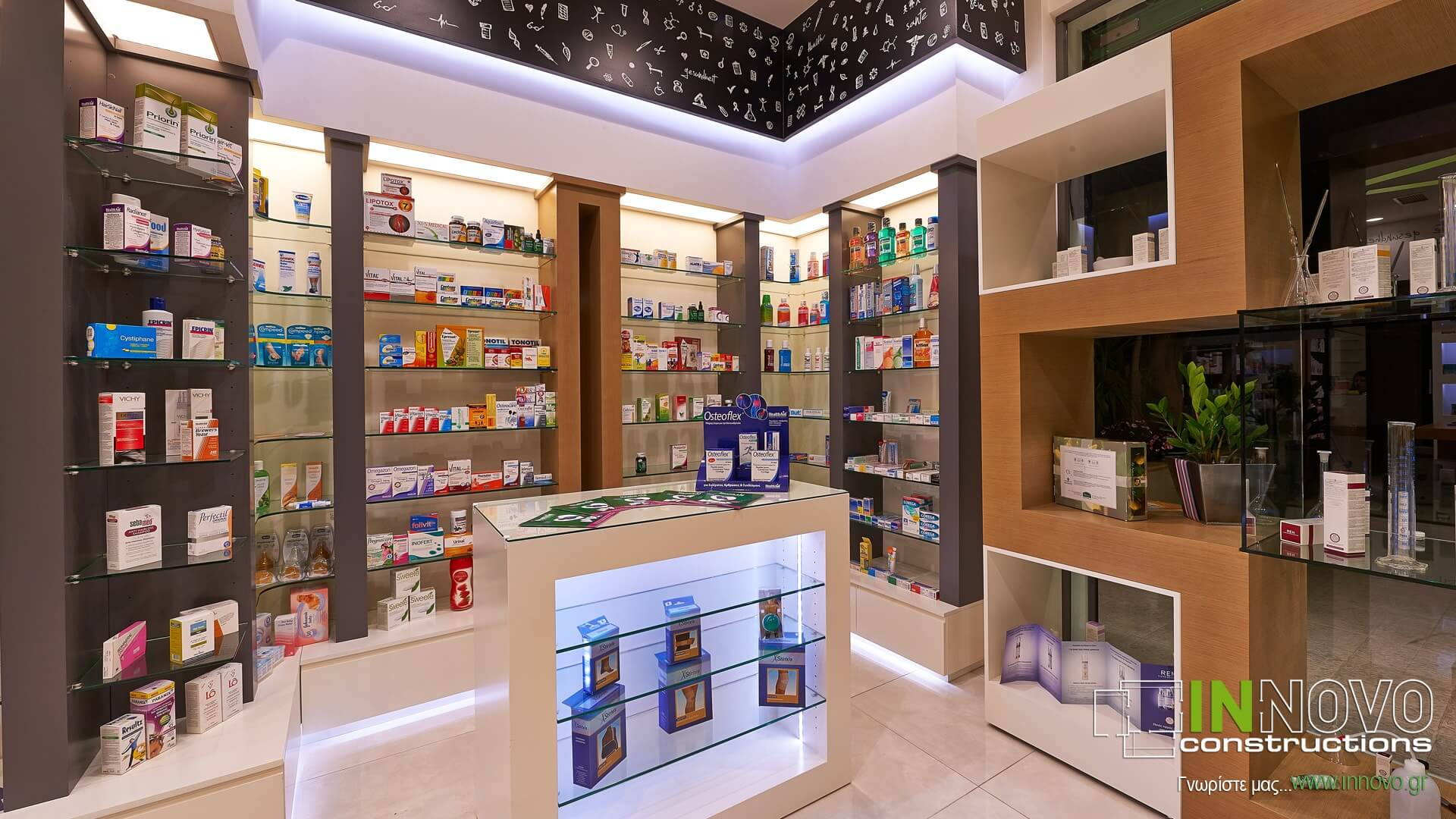 Βούλα ανακαίνιση φαρμακείου