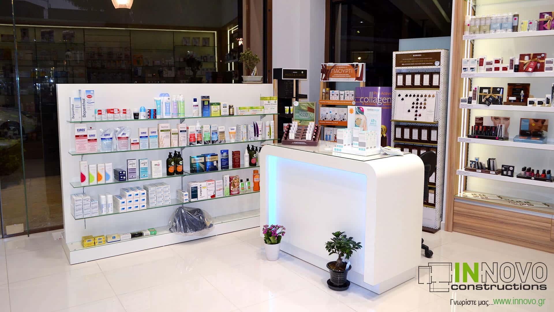 Πάγκος εργασίας C-Irofili A Φαρμακείο Ίλιον