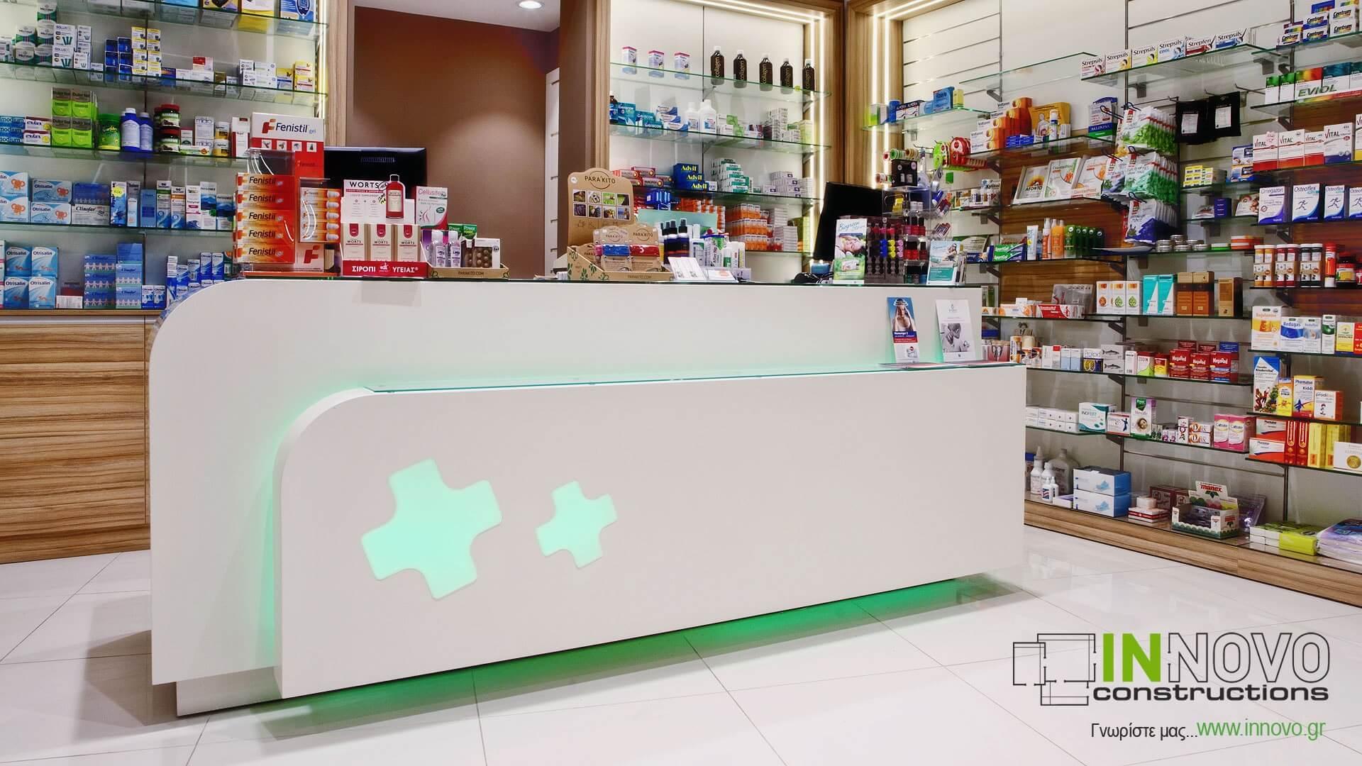 Πάγκος Ταμείου R-Dido, Φαρμακείο Ίλιον