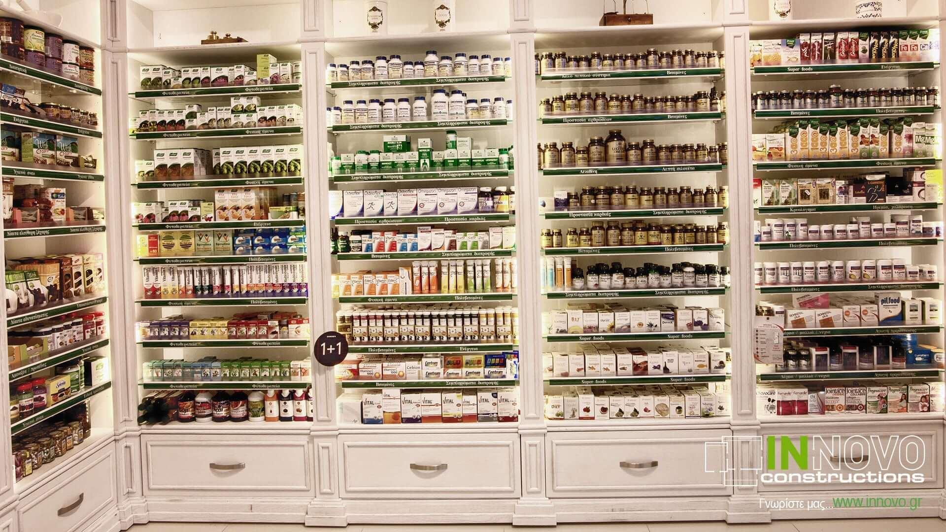 Κατασκευές φαρμακείων Πετρούπολη