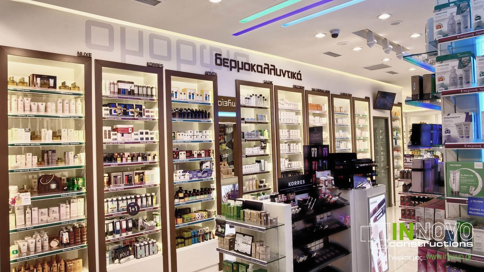 Ανακαίνιση φαρμακείων Πετρούπολη