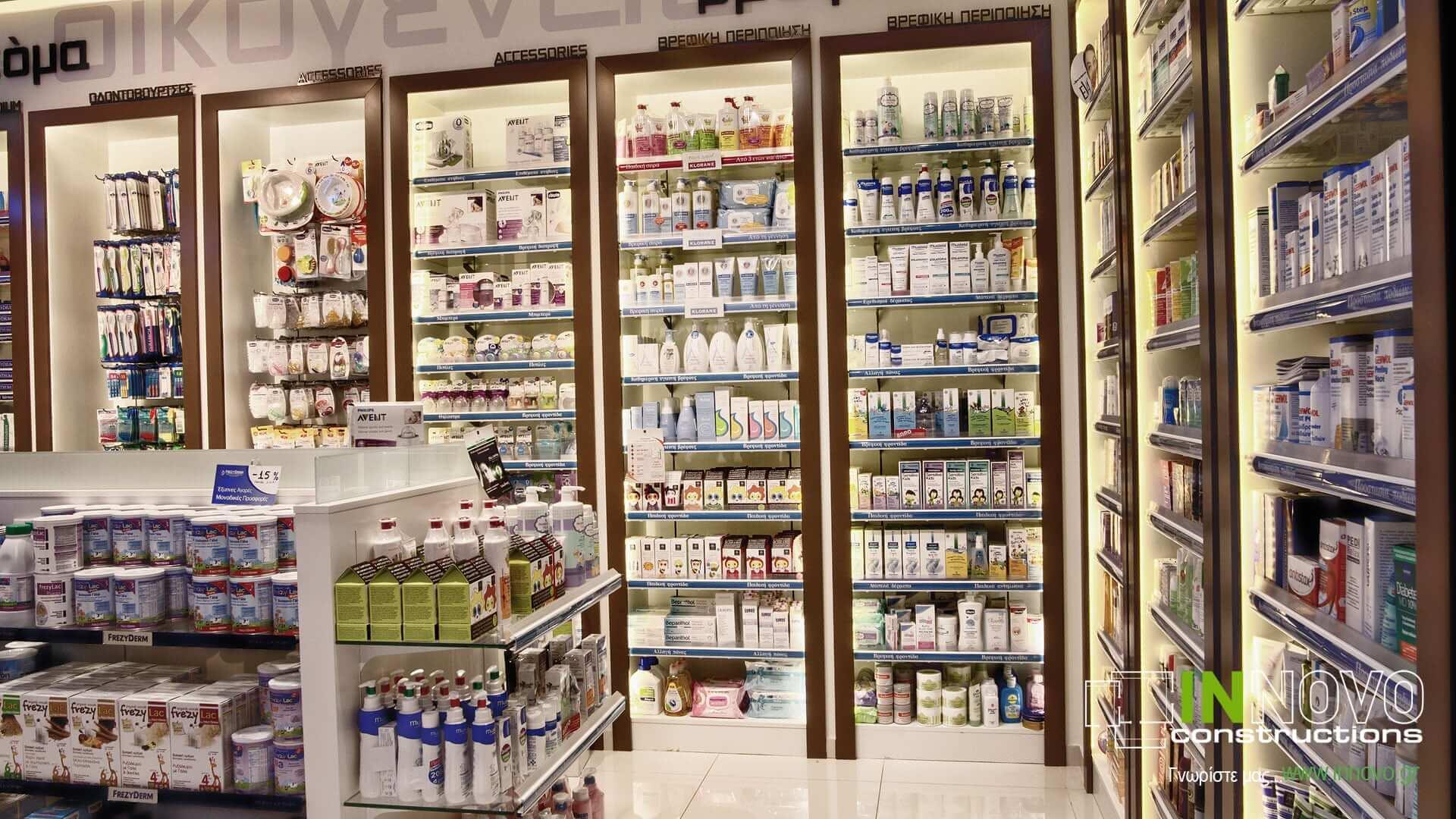 Πετρούπολη κατασκευή φαρμακείων