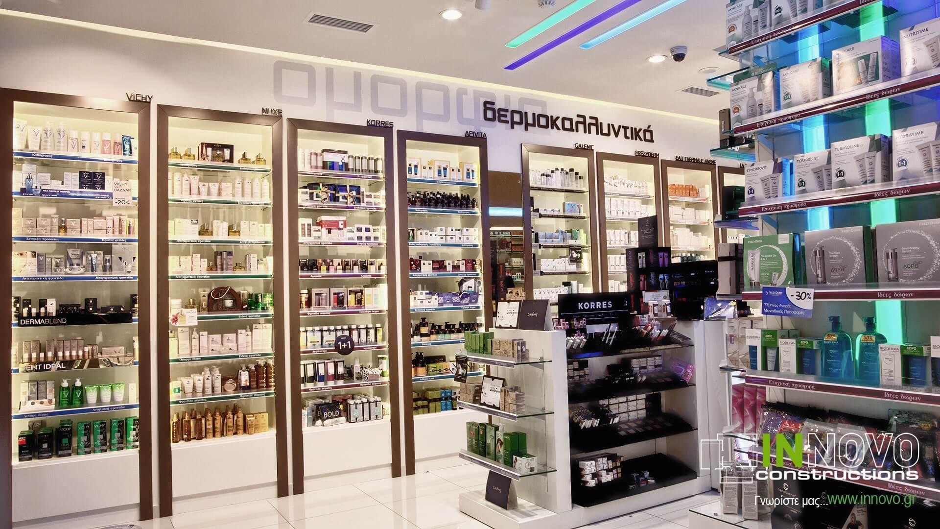 Ανακαίνιση φαρμακείου Πετρούπολη