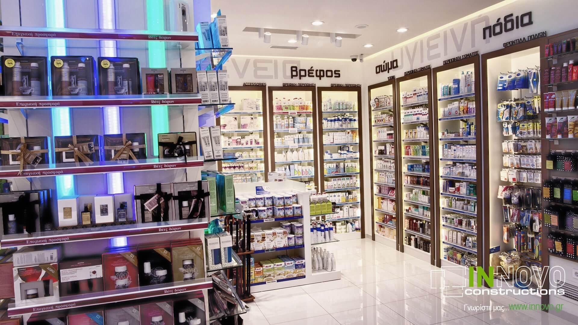 Ανακαινίσεις φαρμακείων Πετρούπολη