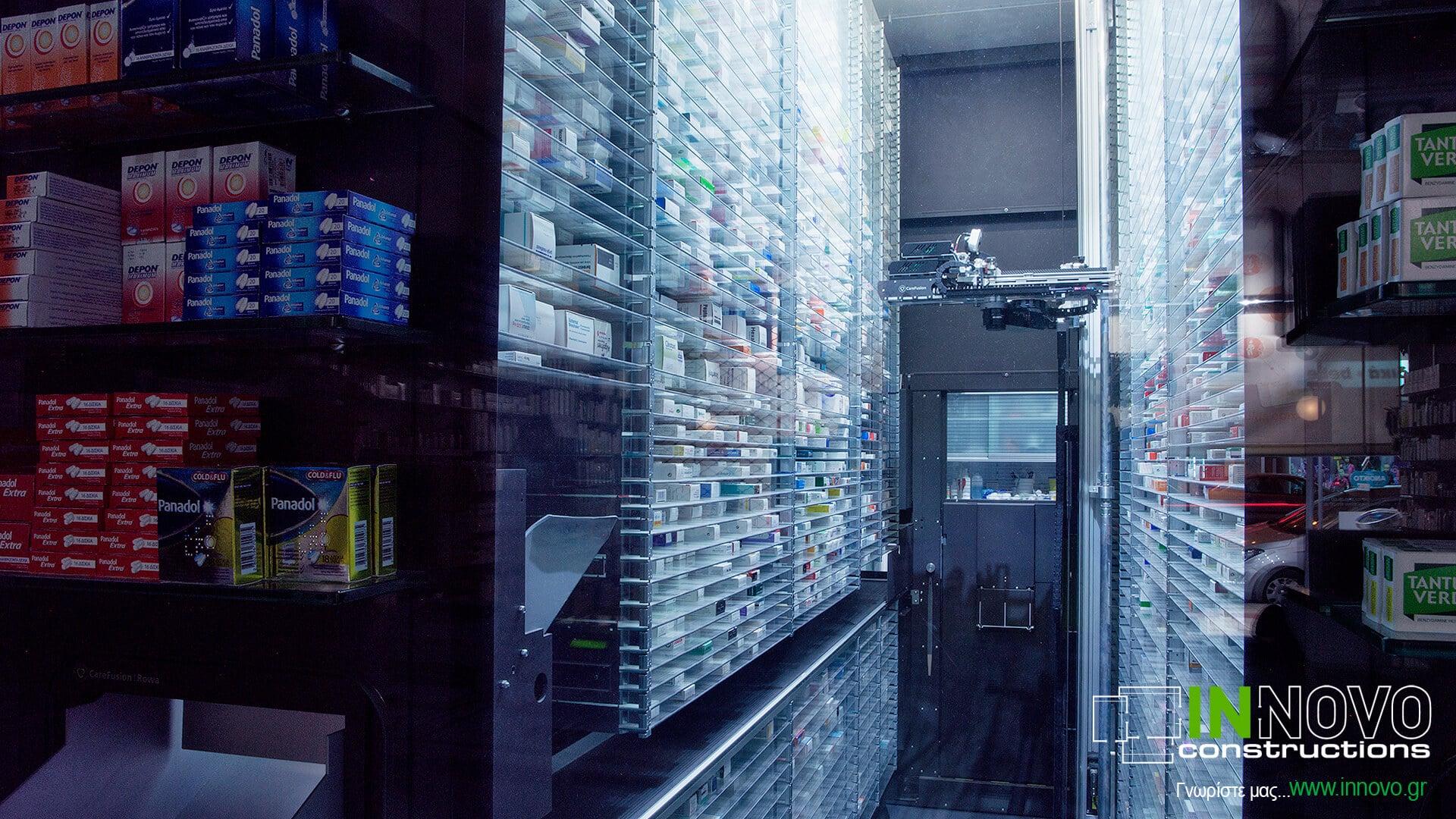 Κατασκευή και εξοπλισμός φαρμακείου στην Καλλιθέα