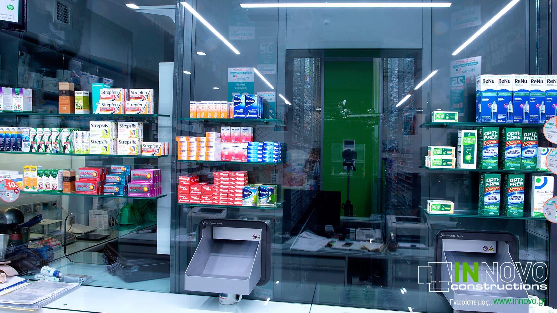 Σχεδιασμός φαρμακείου στην Καλλιθέα