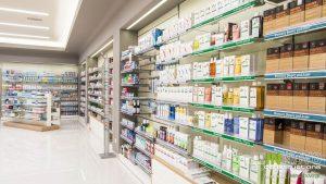 Ράφια φαρμακείου Γέρακα