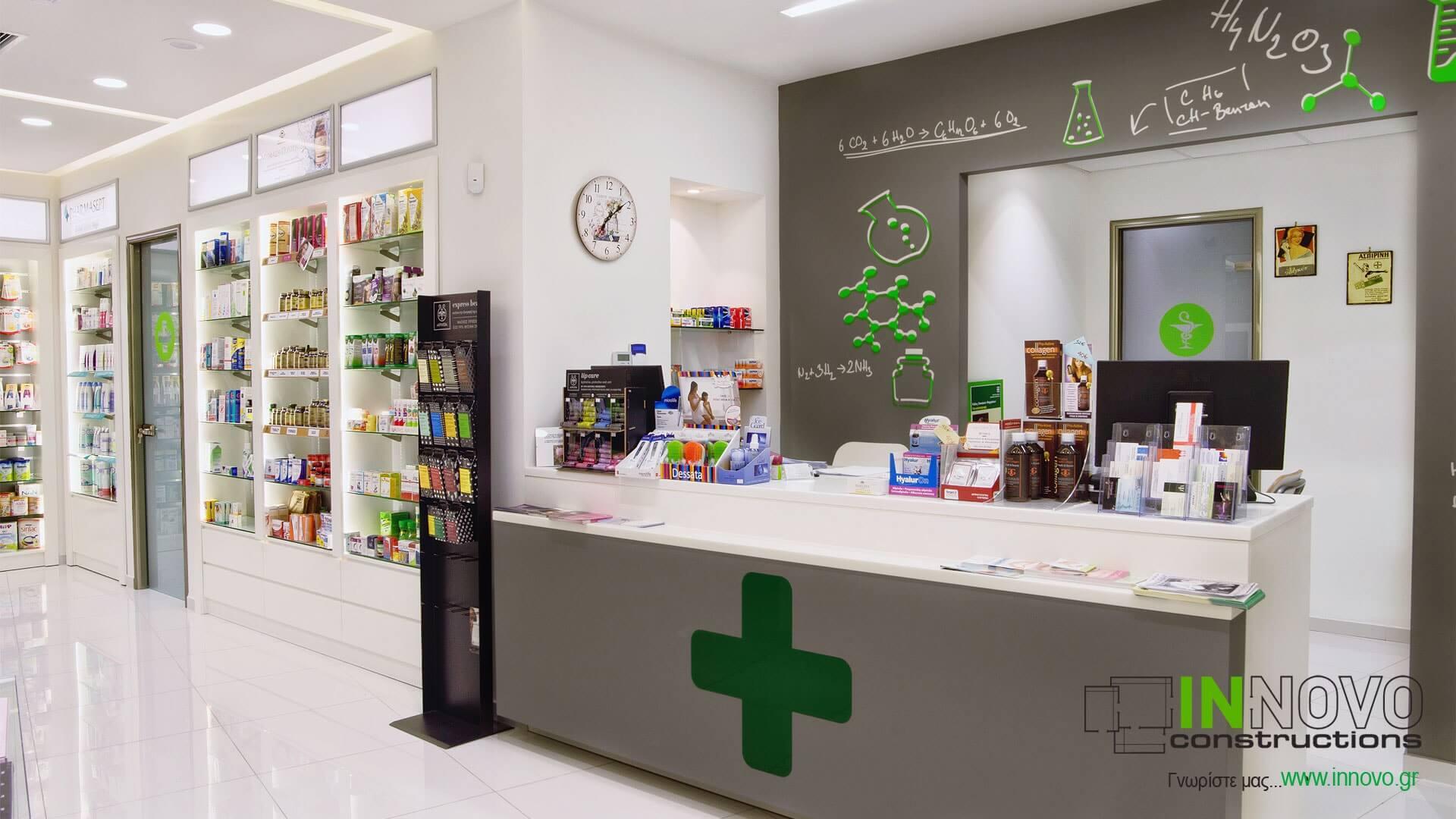 Σχεδιασμός φαρμακείου Γέρακα