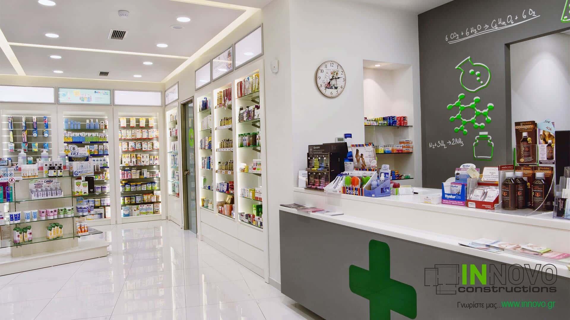 Γέρακας σχεδιασμός φαρμακείου