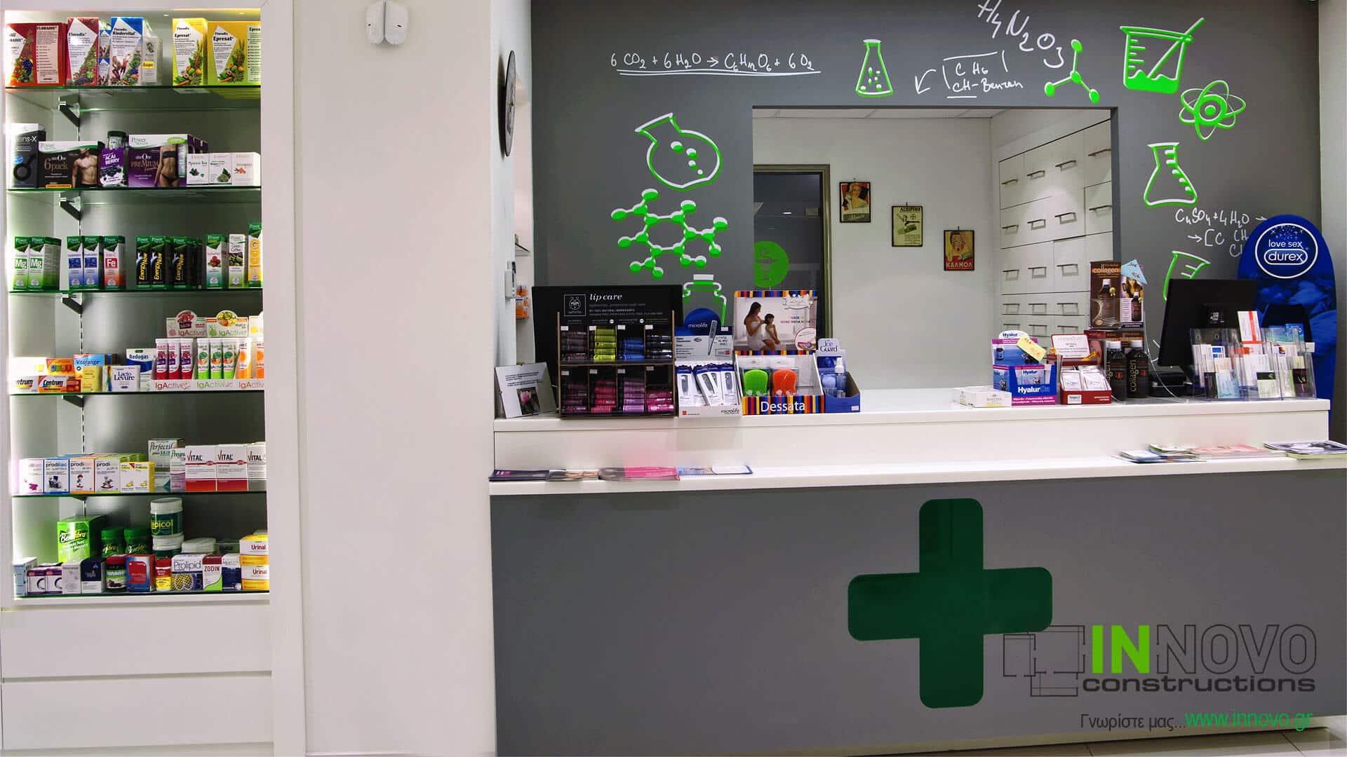 Κατασκευη φαρμακειου πατρικου