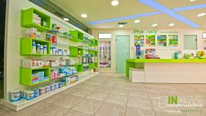 Συρταριερες-Επίπλωση-ανακαίνιση-φαρμακείου