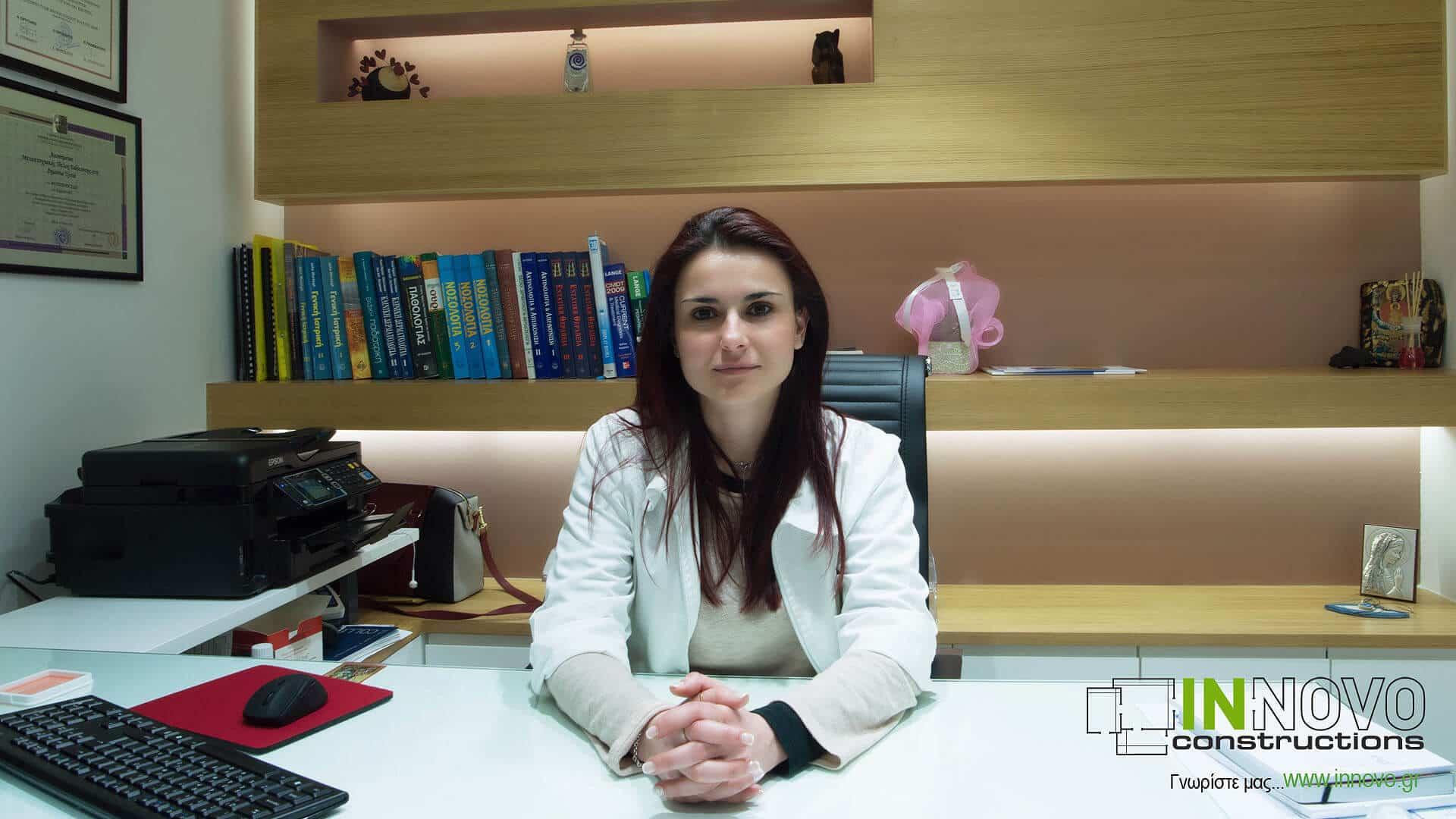 Ιατρείο γενικής ιατρικής, μελέτη σχεδιασμού από την Innovo