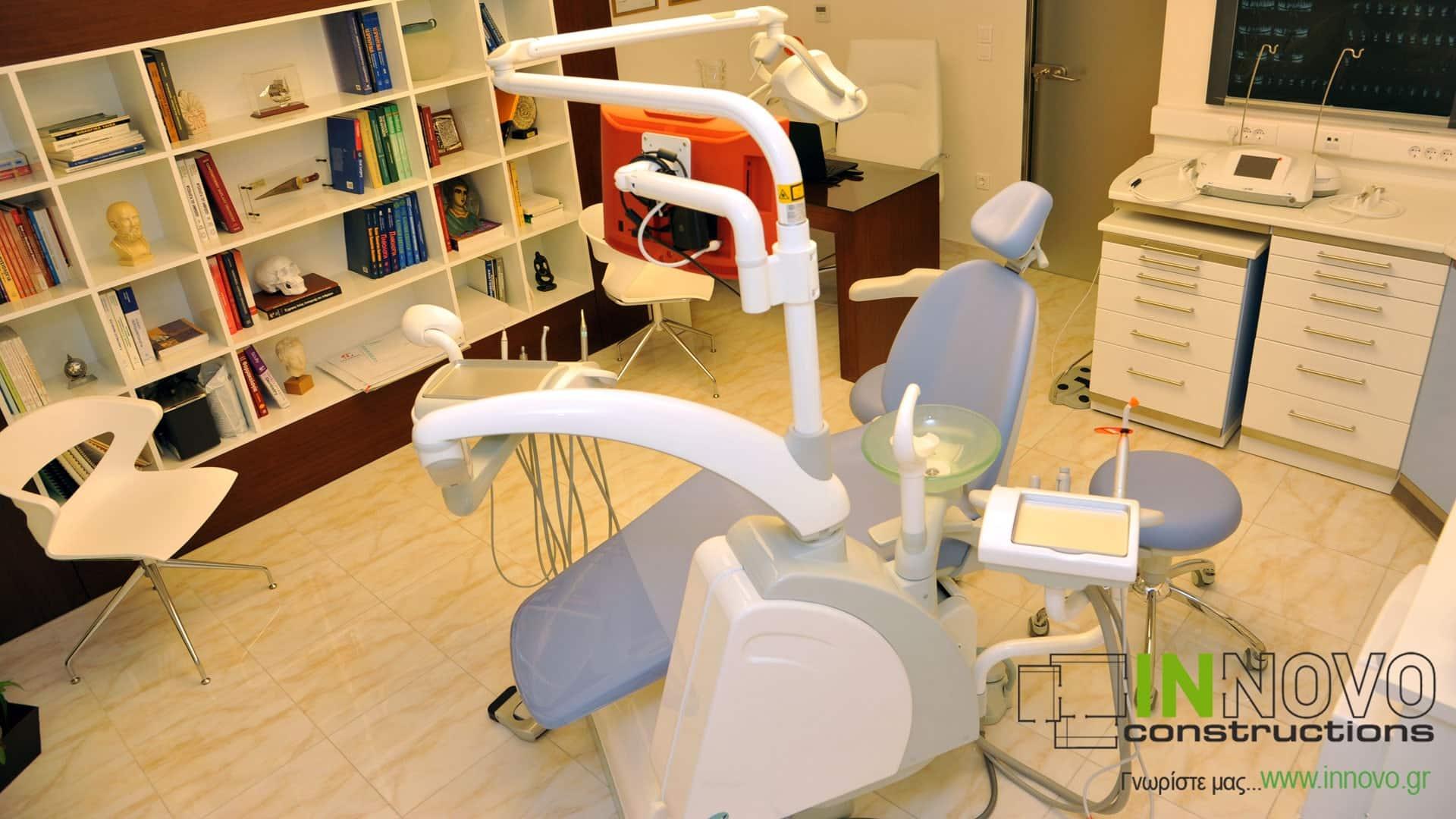 Ανακαίνιση διακόσμηση Οδοντιατρείου στο Παλαιό Φάληρο