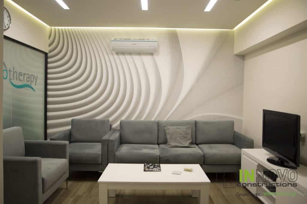 Κατασκευή Φυσικοθεραπευτηρίου στα Ιλίσια από την Constructions