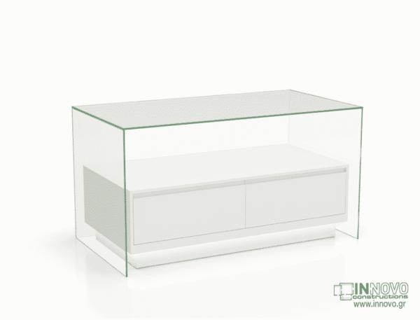 1015 Πάγκος εργασίας C-Lumi Cube B white
