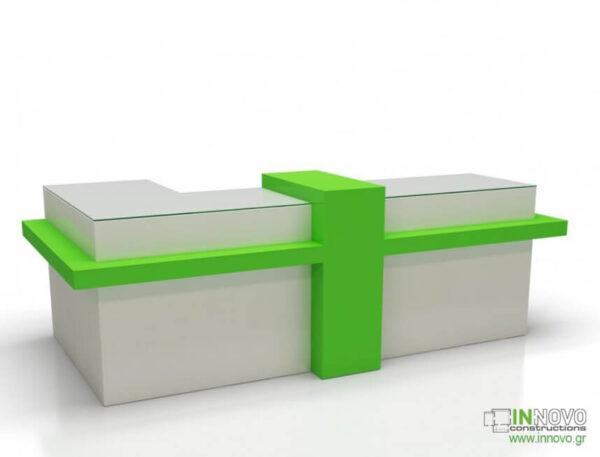 Πάγκος Ταμείου R-Dorida B από την Constructions