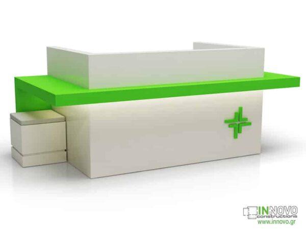 2043 Πάγκος Ταμείου R-Prokris green