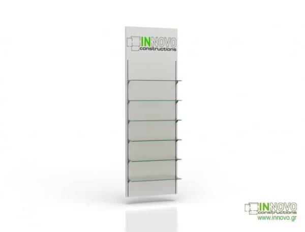 Βιτρίνα φαρμακείου D Standard column