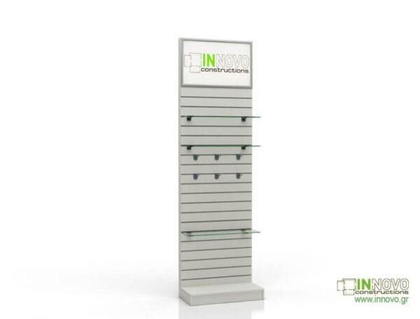 Βιτρίνα φαρμακείου D-Standard-Slat Light Box