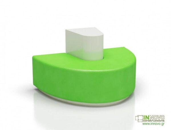 Καθιστικά φαρμακείου S-Kimon green