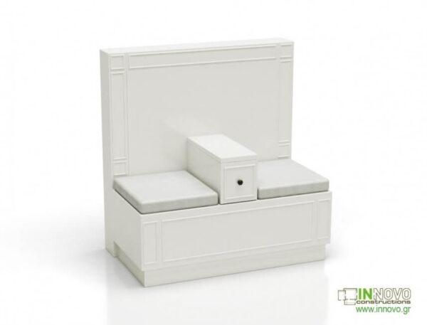 Καθιστικό φαρμακείου S Lumi Patina white