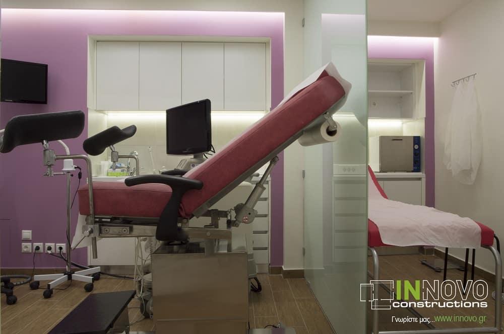 Εξοπλισμός γυναικολογικού ιατρείου στη Λεωφόρο Β. Σοφίας