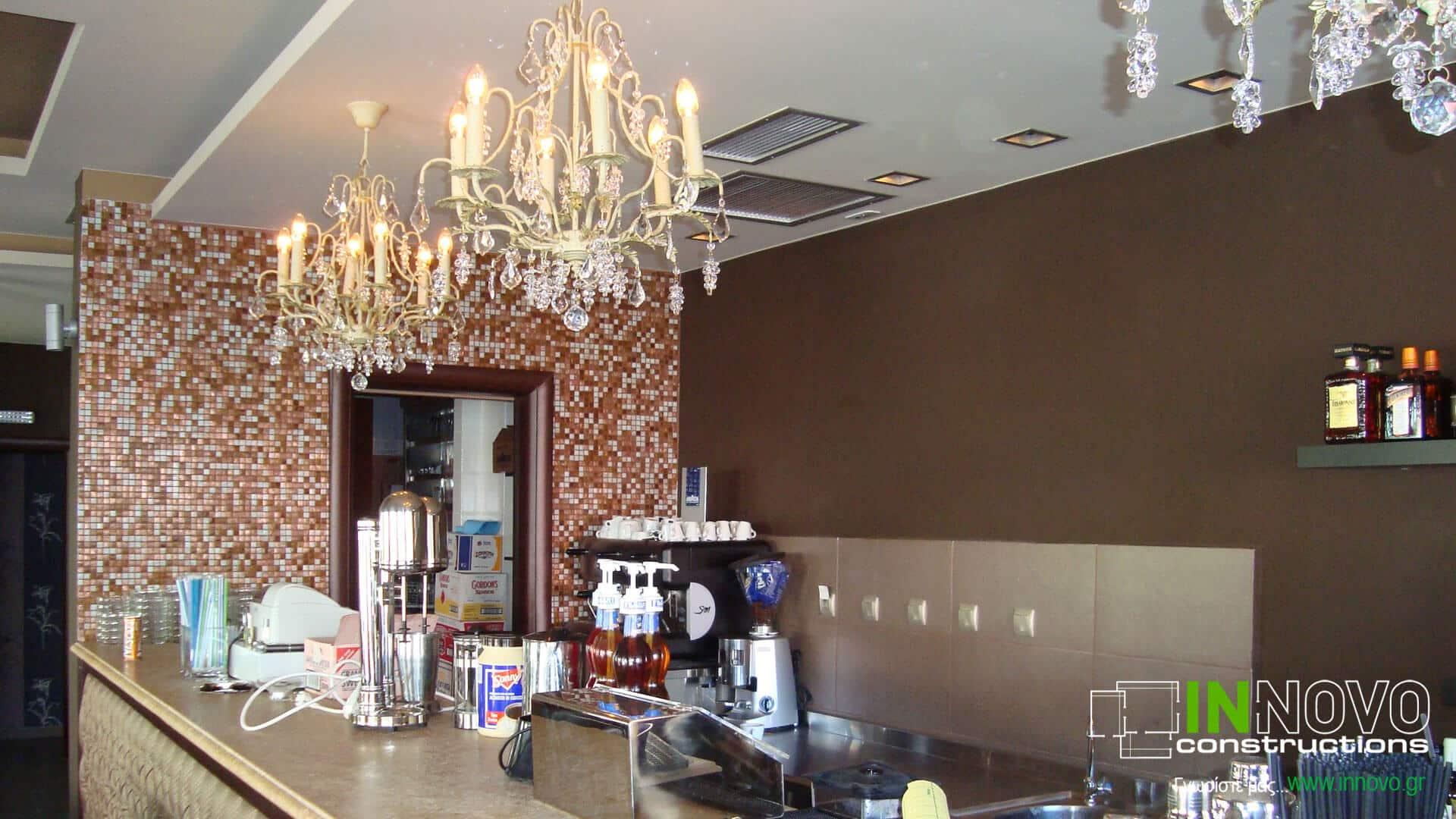Εξοπλισμός καφέ – μπαρ στην Ανάβυσσο