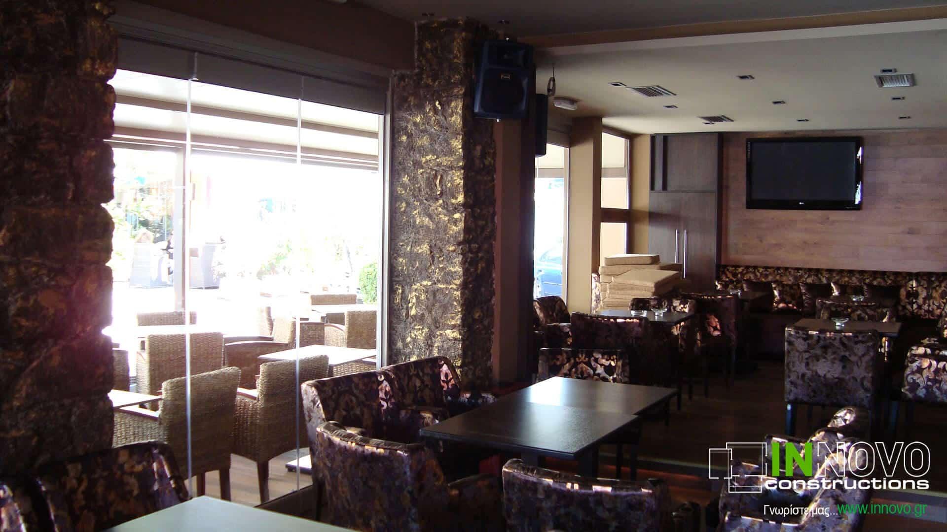 Σχεδιασμός καφέ – μπαρ στην Ανάβυσσο