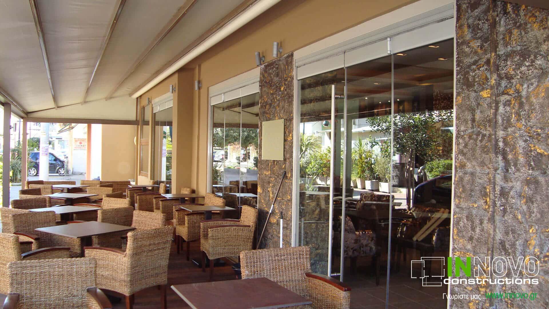 Κατασκευή καφέ – μπαρ στην Ανάβυσσο