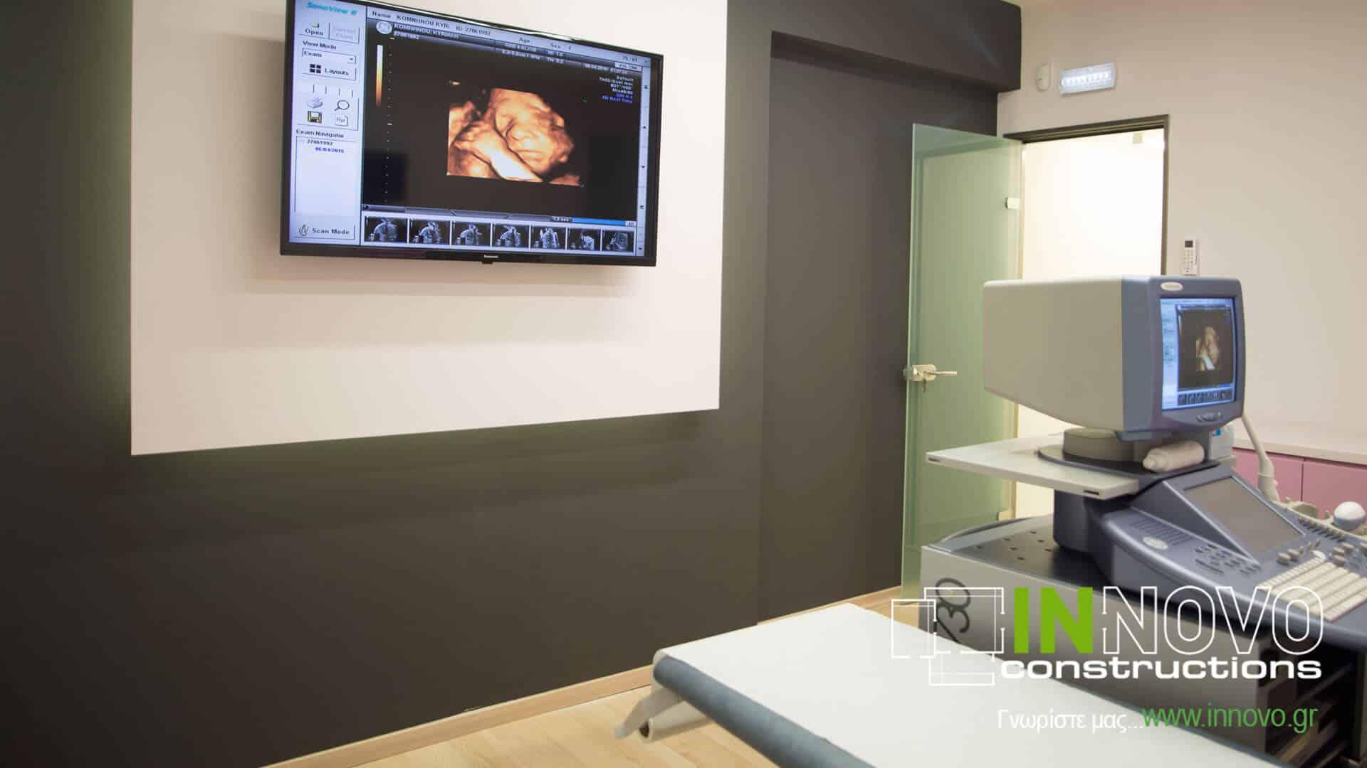 Κατασκευή και διακόσμηση Γυναικολογικού Ιατρείου